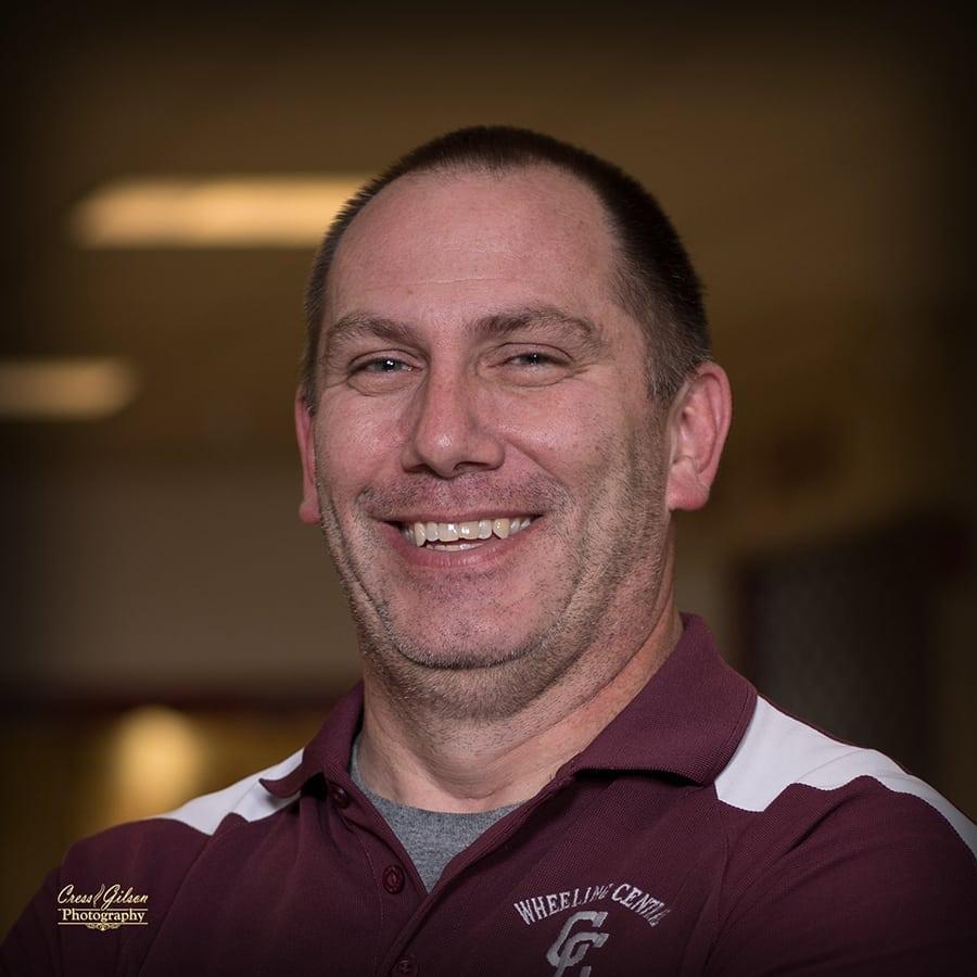 Coach Rick Reidel