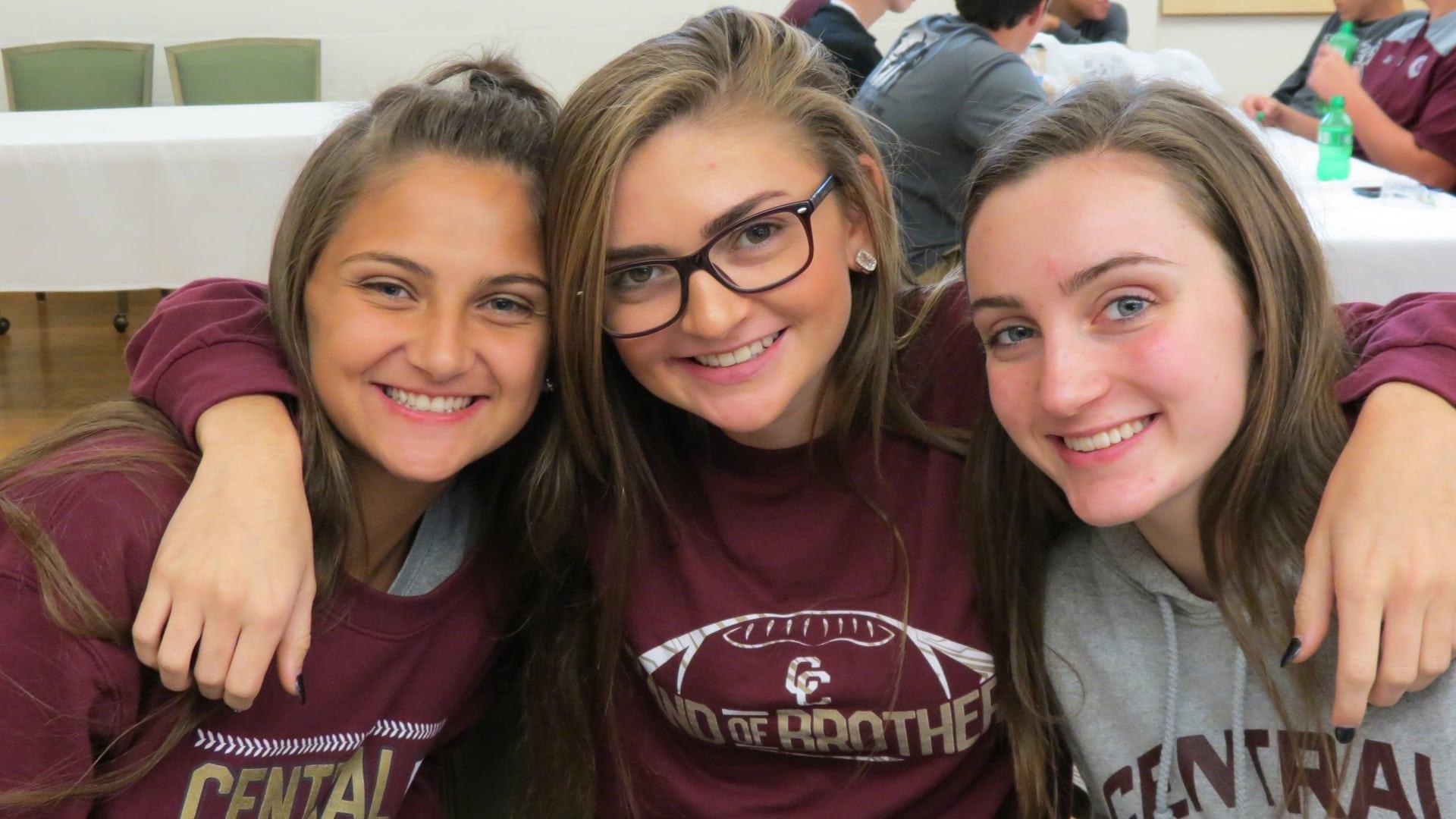 three girls club