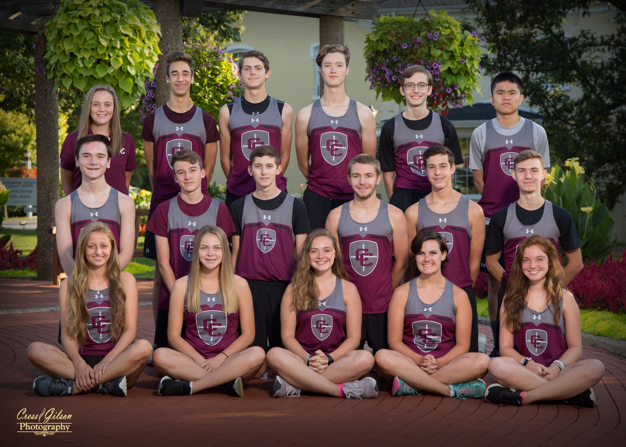 Cross Country Team Photo